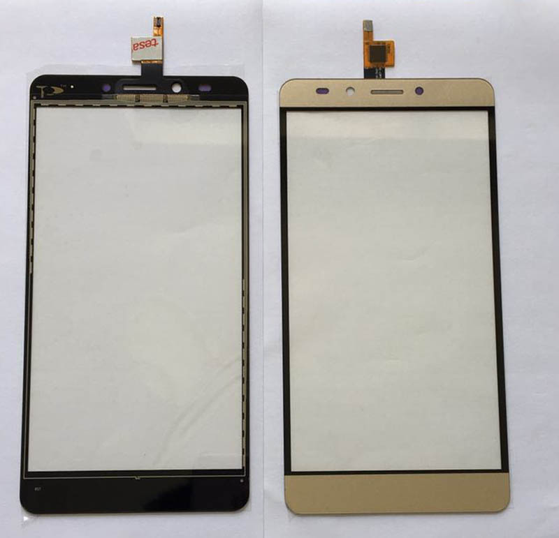 5.0 Inches For Infinix Note 3 X601 Touch Screen Digitizer Gold Color Adhesive Tape