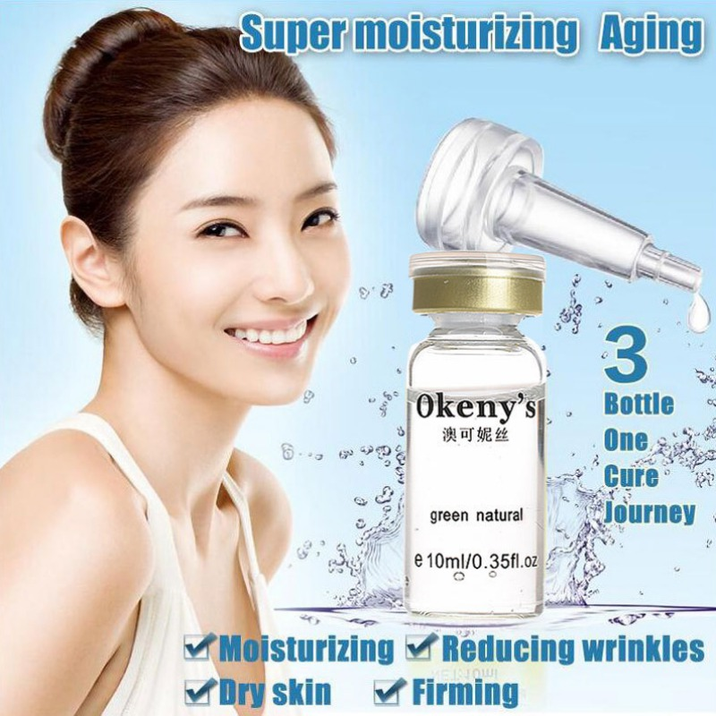 1 Pcs Moisturizing Hyaluronic Acid Serum Anti-Wrinkle Fine Pores Delicate And Smooth Skin Clear Skin