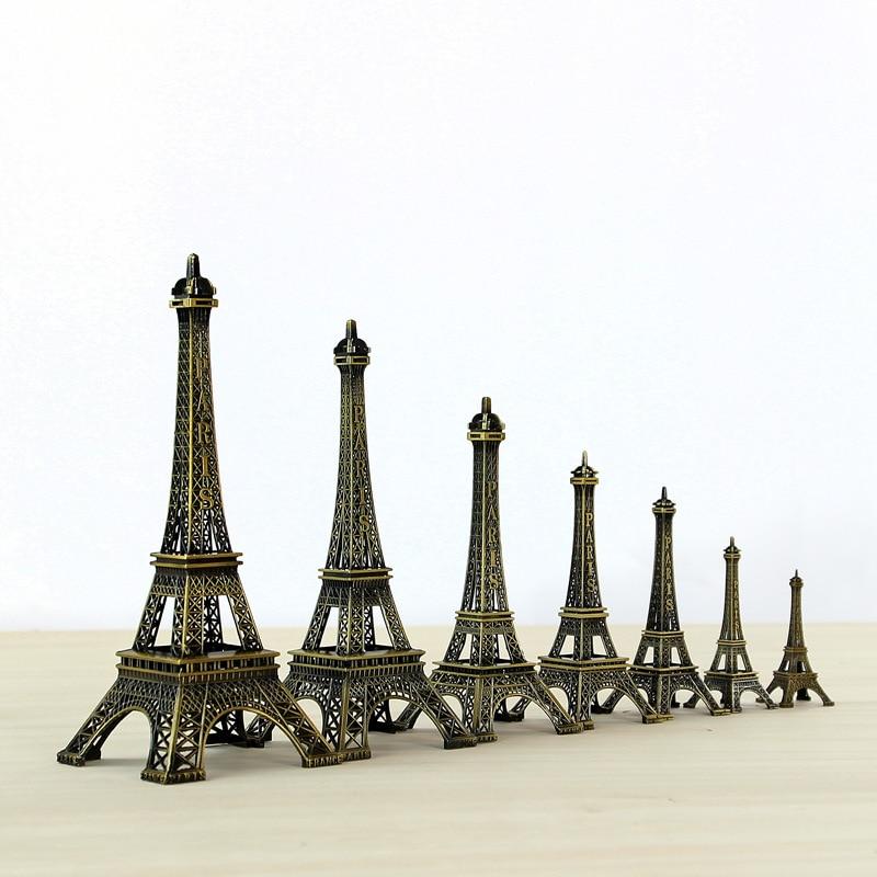 10cm 60cm Metal Eiffel Tower Craft