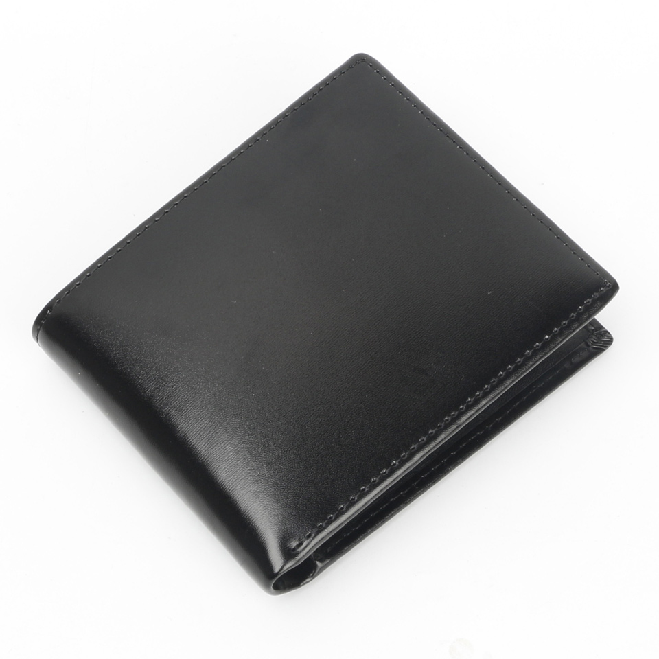 Image 2 - Luxury brand wallet Men Genuine Leather Cow Wallets MMBB M Size Short and Long Male Moneyclip Holder Purse Option-in Wallets from Luggage & Bags