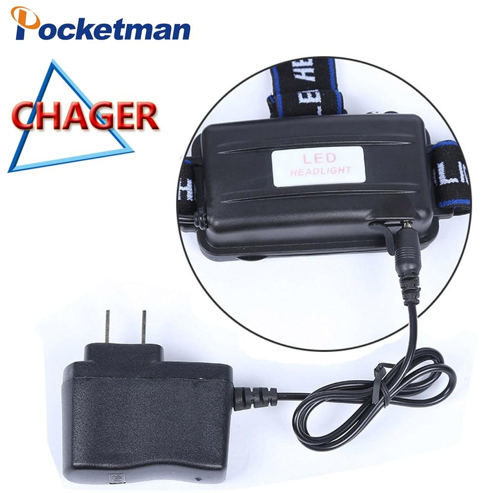 CREE T6 carregador farol head light luz 18650 carga da bateria de  carregamento c2954b8cd15ce
