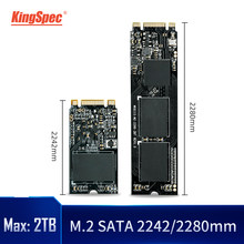 KingSpec M2 SSD 120GB 240GB 500gb 1TB 2TB HDD NGFF SATA Disk SSD m.2 2242 2280 Hard Drive For Computer Laptop m.2 SSD SATA B key(China)