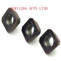 כלי קרביד הפנים טחינה חותך 20PCS SEKT1204 AFTN LT30 טחינה להוסיף כלי קרביד סקט גַיֶצֶת הכנס 1204 מכונות CNC (1)