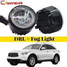 Cawanerl 2 шт. автомобиля Светодиодный Фонарь Ангел глаз дневного света DRL 12 В для Infiniti FX FX35 FX37 FX45 FX50 FX30D 2006-2015