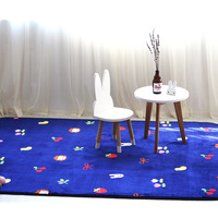 Aardbei kleed dikke vloermat zachte carpet woonkamer multi fuction yoga mat cross/diamant/cherry bloemenprint kleed game pad