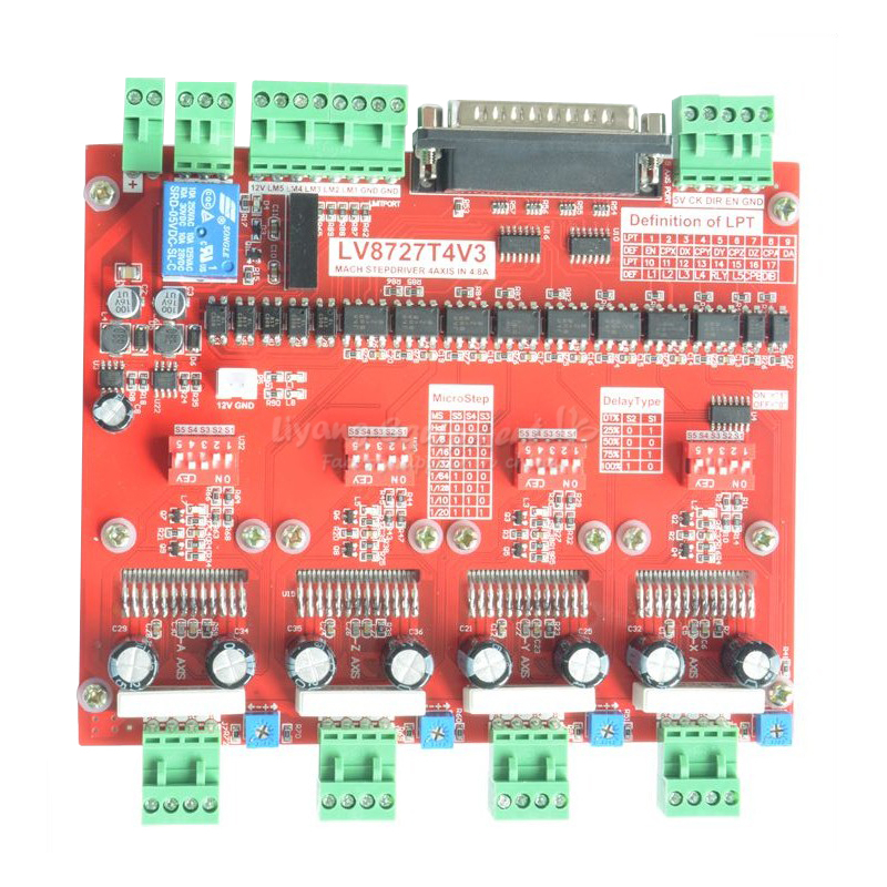 axis stepping motor driver controller engraving machine