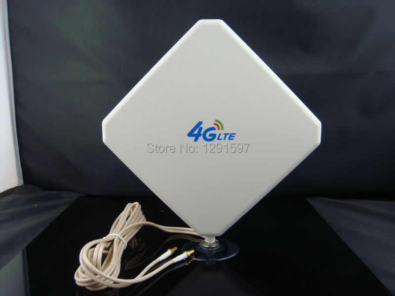 4G LTE Antenna 35dB TS9 / SMA/ CRC9 Connector 4Ghz Booster