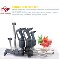 ITOP Handheld Mixer Blender Multi functional Stirrer 220W Immersion Hand Blender Set Practical Food Mixer For Kitchen
