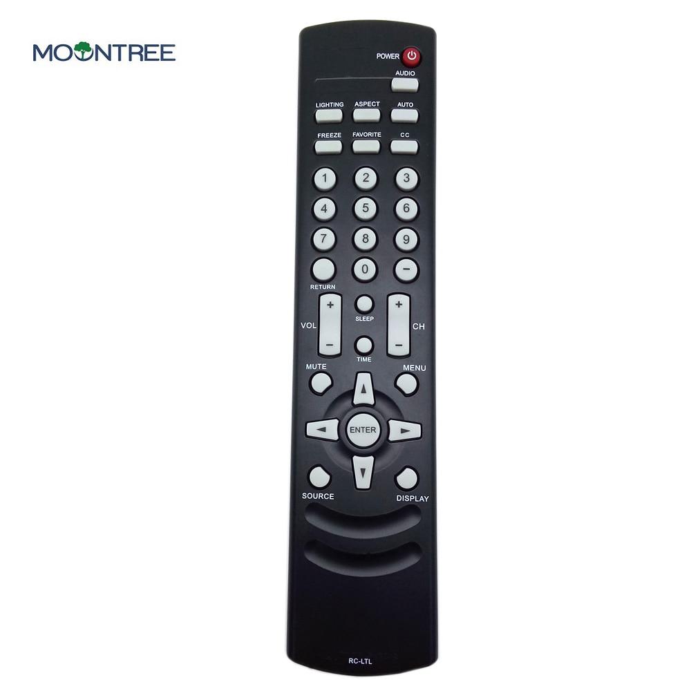 RC-LTL пульт дистанционного управления для OLEVIA tv 219H 226T 227V 232 T 237V 237V 242V 323V 327V 337 V 433 V H контроллер mhz - Цвет: Черный