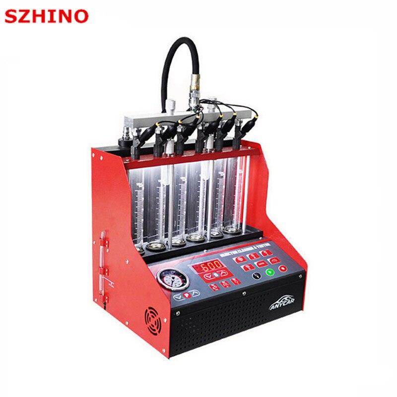100% Originale YAKO IMT-600N Injector Cleaner & Tester 220 v/110 v per Auto A Benzina meglio di CT100 CNC-602A