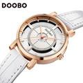 2016 DOOBO Relojes de Mujer de Marca de Lujo Reloj de Cuarzo Moda Mujer Relojes Mujer Ladies Relojes de Pulsera de Negocios Relogio Feminino