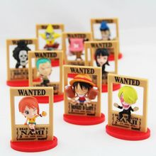 One Piece Wanted Figures 9pcs