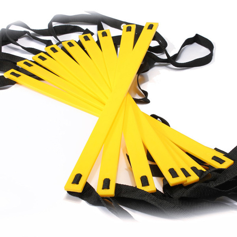 Hot-Football-Training-Straps-Durable-Nylon-Ladder-9-Rung-16-5-Feet-5M-Agility-Ladder-for (4)