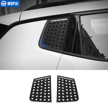 MOPAI Car Exterior Rear Window Triangle Glass Decoration Cover Trim Stickers for Jeep Compass 2017 Up Car Accessories Styling