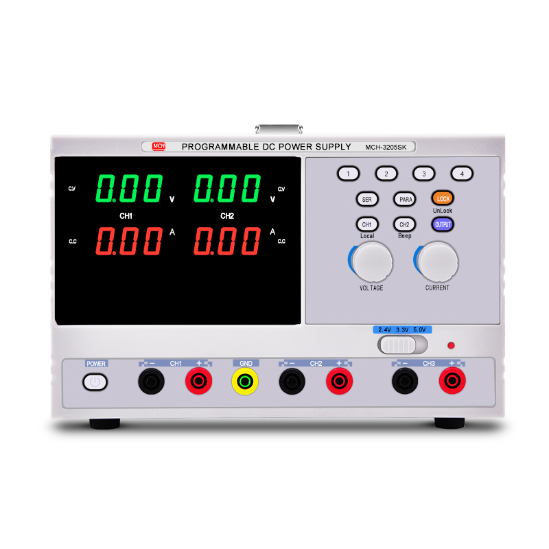 MCH-3205SK Single Phase Programmable Linear DC Power Supply with LCD Display