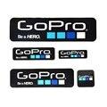 Камеры Аксессуары Этикетки Значок Клей Наклейки С Логотипом для Gopro Наклейка для Gopro Hero Сессии