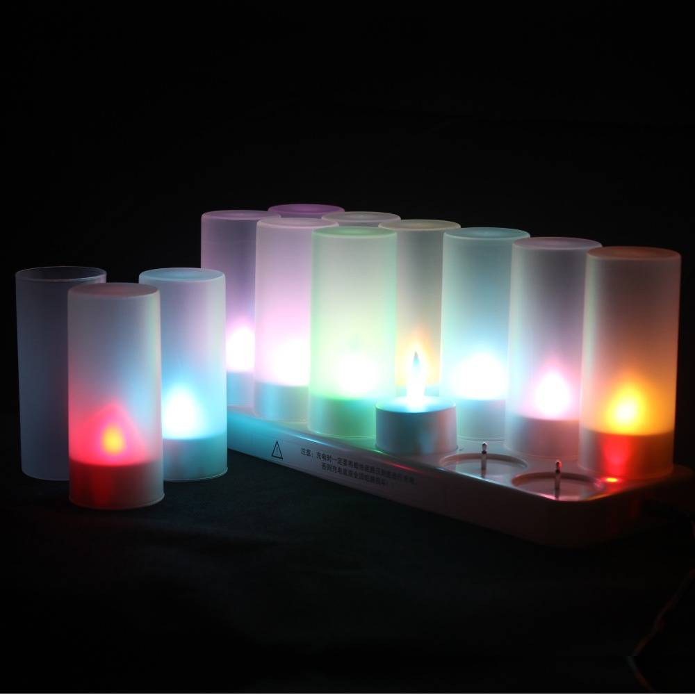 Fairy rechargeable led candle lights table lamp indoor - Luces decorativas ...