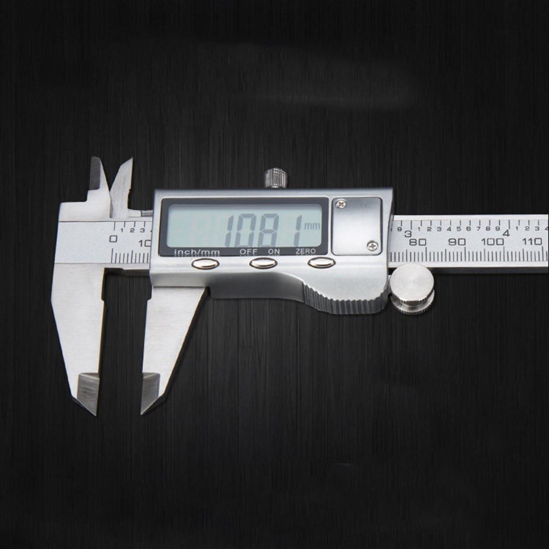 Wysokiej jakości 1szt metalowy 6-calowy 150 mm elektroniczny - Przyrządy pomiarowe - Zdjęcie 6
