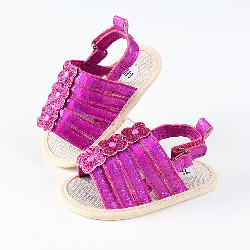 Summer 2019 New Baby Girls Sandals Breathable Leisure Summer Magic Paste Design Newborn Baby Shoes Slippers