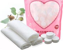 100pcs Travel Compressed Towel Face Towels Hand Wipes Paper Tissue Mask Disposable Cotton Washcloth