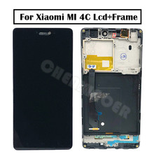 No Useless Pixel 5.0″ 1920×1080 Change Display screen Mi 4C LCD For XIAOMI Mi4C LCD Show Contact Display screen Digitizer with Body