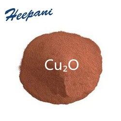 Бесплатная доставка ультратонкая медь (I) оксид красный Cu₂O порошок электролитический оксид cuprous для редукции