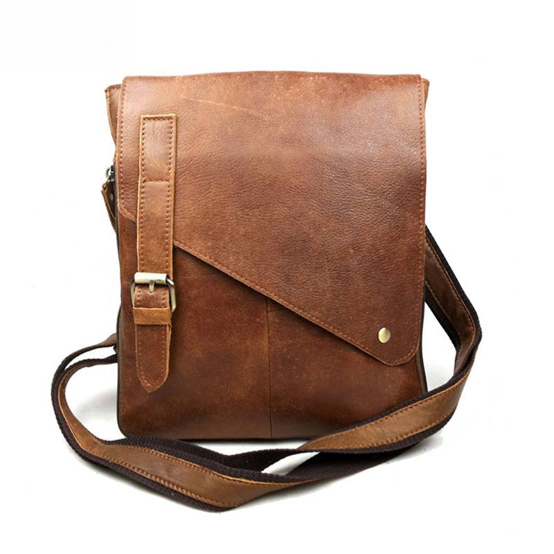 100% Genuine Leather Bag For Men Brand High Quality Messenge Bag Tablet PC handbag business shoulder bag briefcase messenger bag