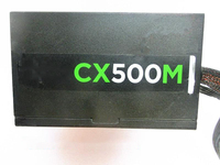 Used original CX500M module power supply 80PLUS bronze rated 500W