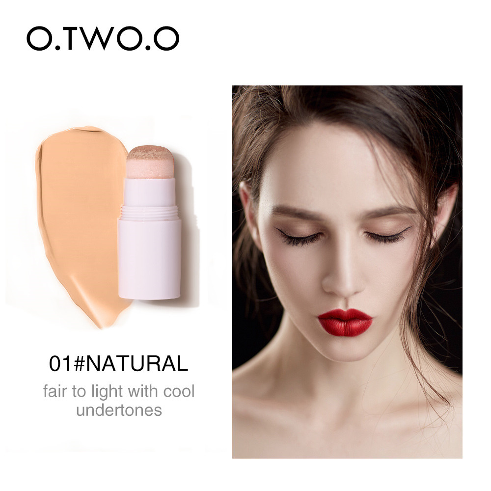 O.TWO.O 1pcs Air Cushion Concealer Stick Full Cover Contour Face Makeup Lasting Foundation Base Hide Blemish Pores
