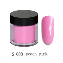 S-088 Pink Dipping Powder NO Lamp Cure Nails Dip Powder Natural Dry Long Lasting Than UV Gel Polish For DIY Nail Dip System #05