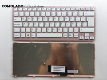 LA Latin Keyboard For Sony Vaio VPC-CW VPC CW VPCCW CW16EC CW18FC pink Frame Laptop Keyboard LA Layout laptop battery for sony vpc x117lg b vpc x138jc vpc x113 vpc x115 vpc x116 vpc x118 vpc x119 vpc x11 vpc x125 vpc x127
