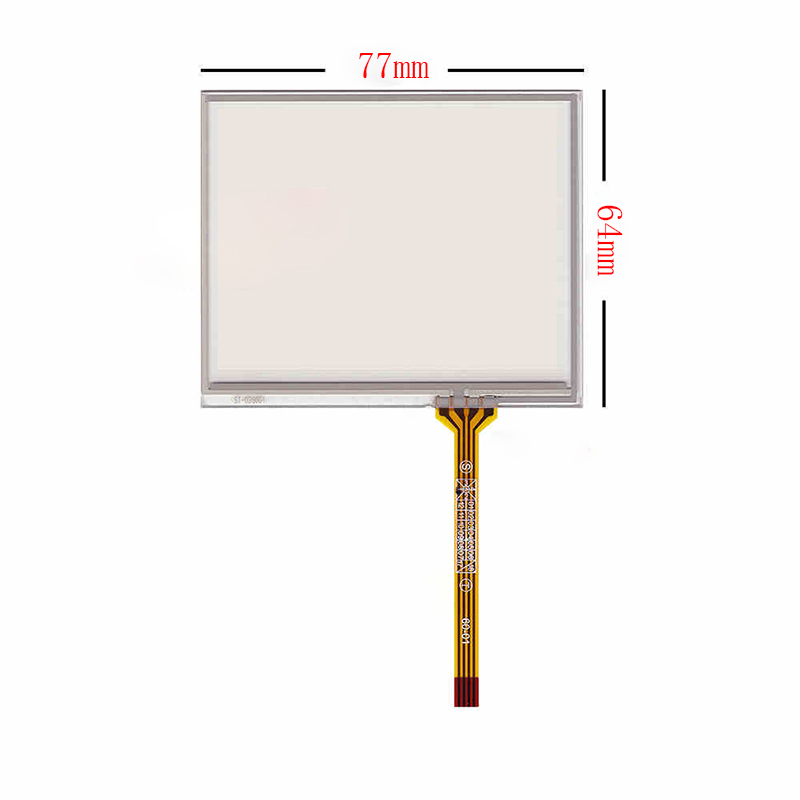New 3.5 inch 4Wire Resistive Touch Panel Digitizer Screen For Navitel NX 3100 NX3100 77*64mm GPS Free shipping wholesale new 4 3 inch touch screen panels for lms430hf18 lms430hf19 gps touch screen digitizer panel replacement free shipping