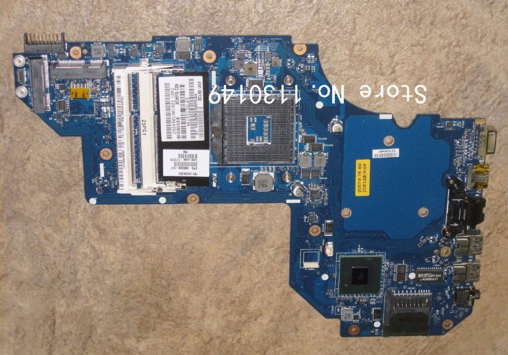Подробнее о Free shipping ! 100% tested 686928-001 686928-501 board for HP pavilion M6 M6T M6T-1000 series laptop motherboard free shipping 100% tested 737982 501 737982 001 board for hp pavilion 15 15t 15 n 15t n series laptop motherboard