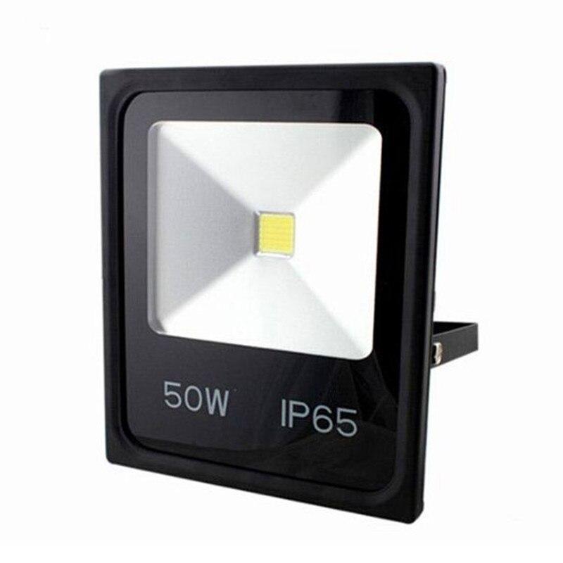100 W אור LED מבול Waterproof IP65 30 W 50 W 70 W LED זרקור הארה 230 V מתאים גן כיכר מקרנים חיצוני מנורה