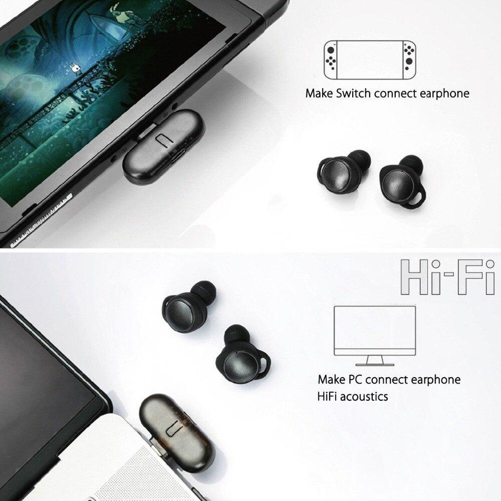 Gulikit Route + PRO sans fil CSR Bluetooth 2.1 + EDR type-c adaptateur USB émetteur-récepteur Audio pour Nintendo Switch - 3
