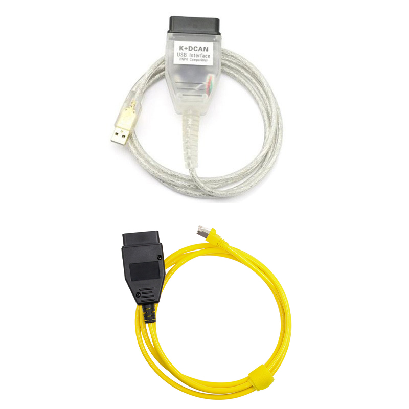 US $23 76 12% OFF|ENET E SYS Coding Cable For BMW F Series Programming With  INPA K CAN Cable K+DCAN Ediabas Diagnostic Cable on Aliexpress com |