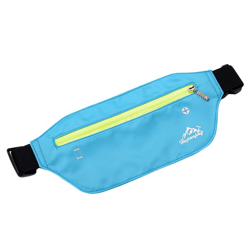 New Casual Men Women Waist Packs Belt Bum Waist Pouch Fanny Pack Leisure Zip Bag Pure Color Water Repellent Nylon Messenger Bag недорого