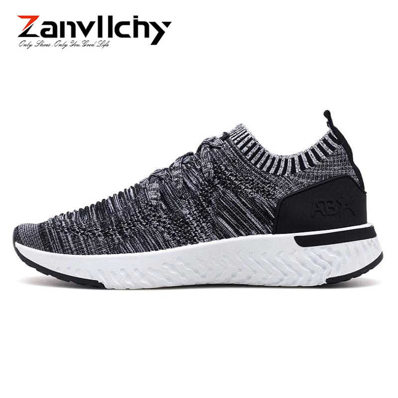 Zanvllchy Men Shoes 2018 Summer Soft Breathable Men Casual Shoes Lace Up High Quality Couple Flat Mesh Ultra Boost Tenis Shoes men shoes summer breathable lace up mesh casual shoes light comfort outdoor men flats cheap sale high quality krasovki