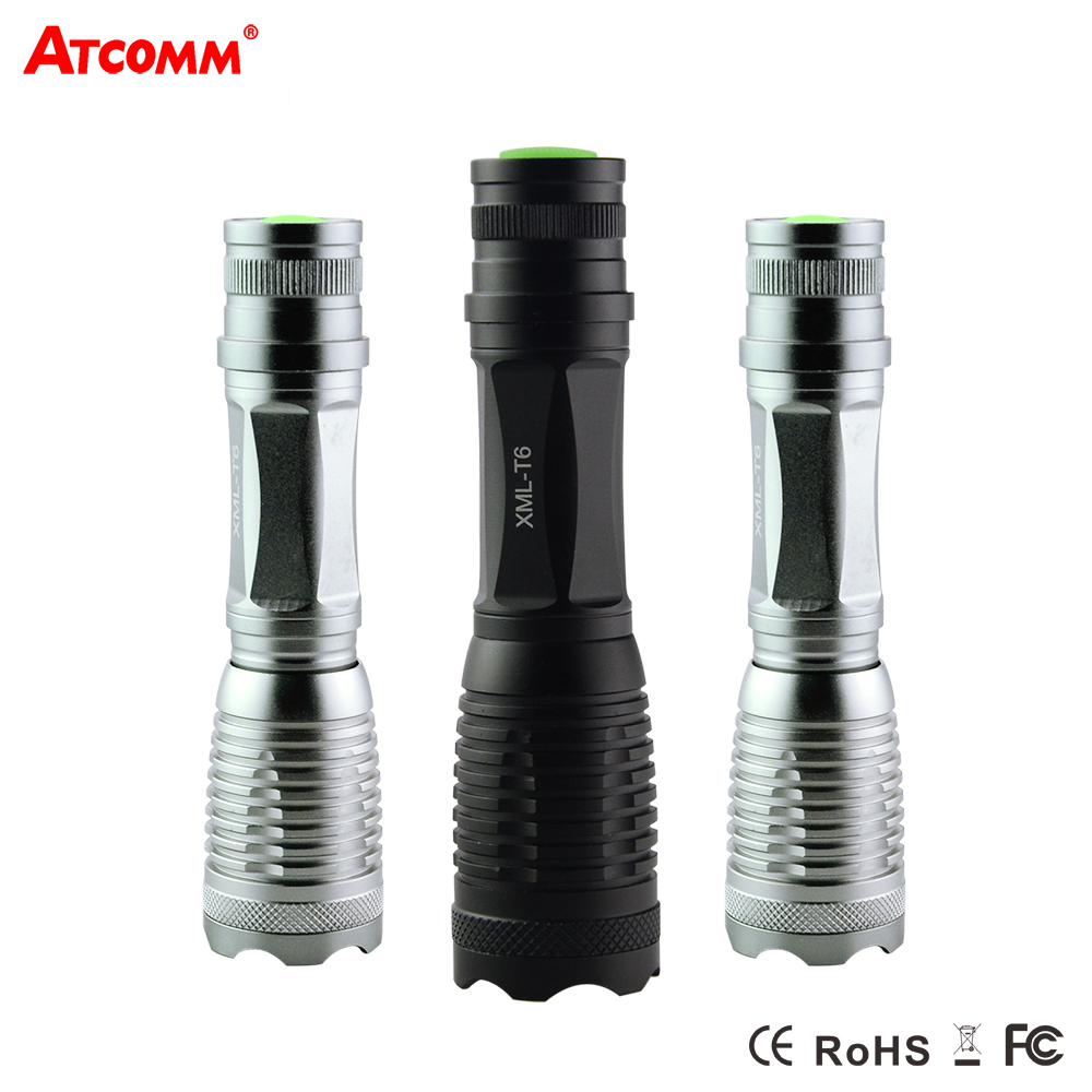 CREE XML-T6 Led Flashlight High Lumen IP65 Waterproof 5 Modes Zoom Led Diode Torch Outdoor Emergency Lighting 18650 AAA Battery 2015 h1 led cree high lumen 30w 3000lm 6000k no need fan