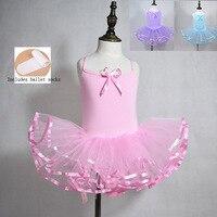 Ballet Tutu Dress For Girls New Summer Sky Blue Dance Vest Children S Cheap Ballet Practice