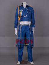 цена на Fullmetal Alchemist Cosplay Costume Colonel Roy Mustang Military outfits mp000090