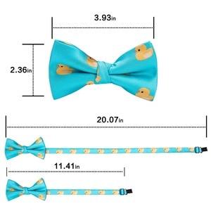 Image 2 - DiBanGu/Лидер продаж, 3 предмета, галстук бабочка шелковые галстуки бабочки, модные галстуки бабочки для маленьких детей, галстук бабочка, синий, красный, зеленый, галстук бабочка