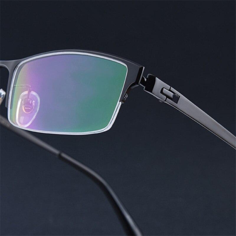 Pure Titanium Glasses Men Frame Prescription  Men Designer Glasses Frame Optical Glasses Myopia Hyperopia Progressive 179