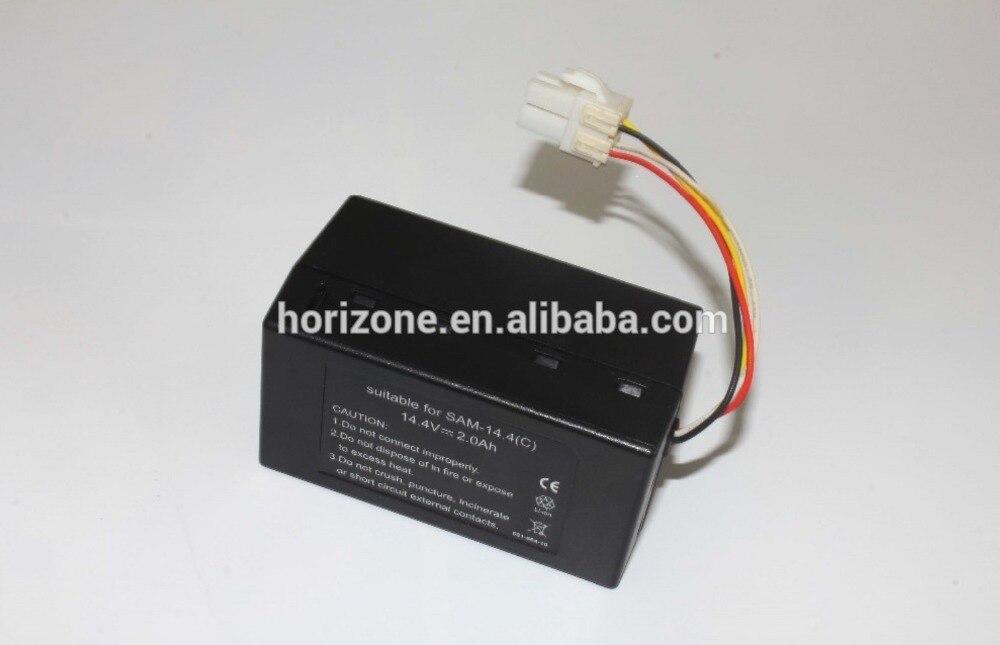 14.4v Replacement li-ion battery for Sumsang VCR8930L3S VR10F71UCBC SR10F71UB NaviBot S Corner DJ43-00006B vcr 2 pc от ion audio