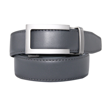 Mens High Quality Genuine Leather Belt-Ratchet Holeless Automatic Buckle Men Belt Popular Business Casual Male Belts Luxury Belt cowskin leather smooth buckle belts for men high quality double v buckle male strap famous brand genuine leather men belt