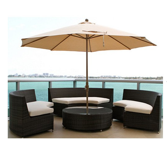 Factory direct sale Outdoor All Weather Wicker Furniture Conversation Patio  Set Dining Table Chairs-in Outdoor Tables from Furniture on Aliexpress.com  ... - Factory Direct Sale Outdoor All Weather Wicker Furniture