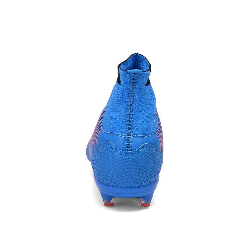 Socone Football Bottes De Haute Cheville Haut Haut Chaussures De Football Longues Pointes Chaussures De Football De Formation résistant Chaussures De Sport - 5
