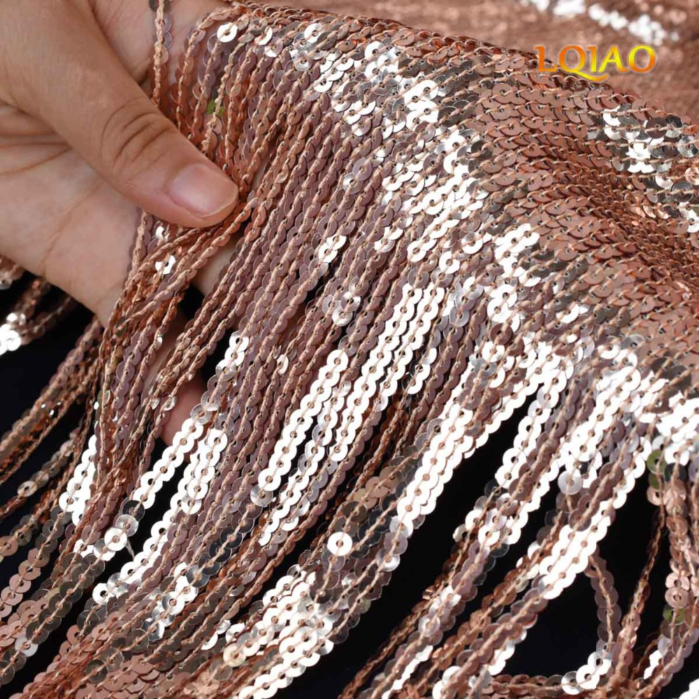 Rose Gold Curtain Tassel-006
