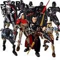 НОВЫЙ Звездные войны Бродяга-1 Marvel Super Heros K-2SO Kylo Рен Дарт Вейдер Люк Строительные Блоки Игрушка Действий Подарок Лепин