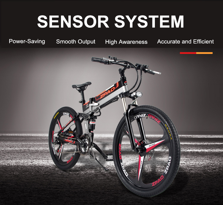 HTB1M ijh8fH8KJjy1Xbq6zLdXXax - 21 Velocity, 26 inches, 48V/15A, 350W, Folding Electrical Bicycle, Mountain Bike, Lithium Battery, Aluminum Alloy Body, Disc Brake.